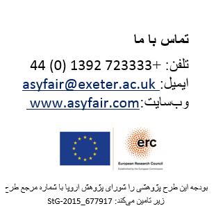 Farsi Contact details